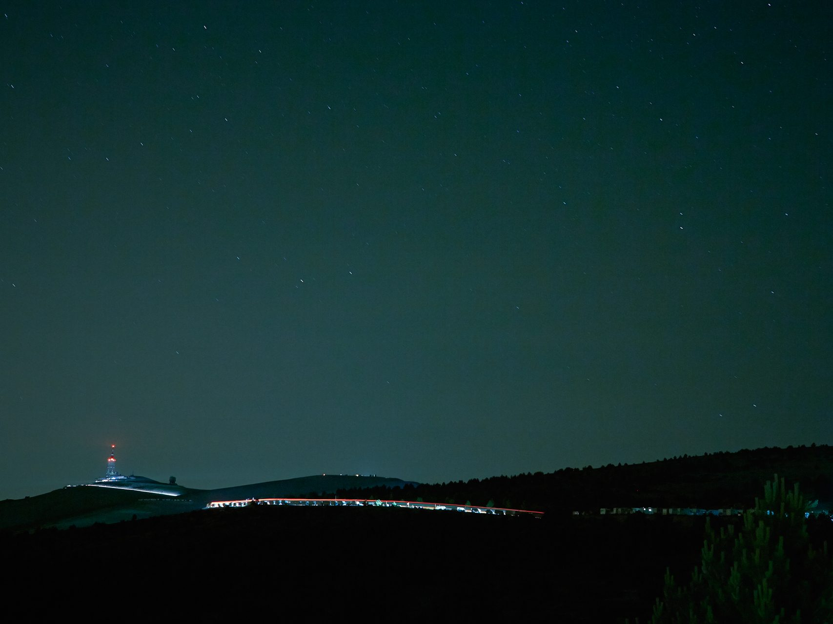 Mont Ventoux by night
